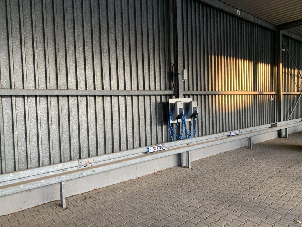 Beispiel Elektroladestation