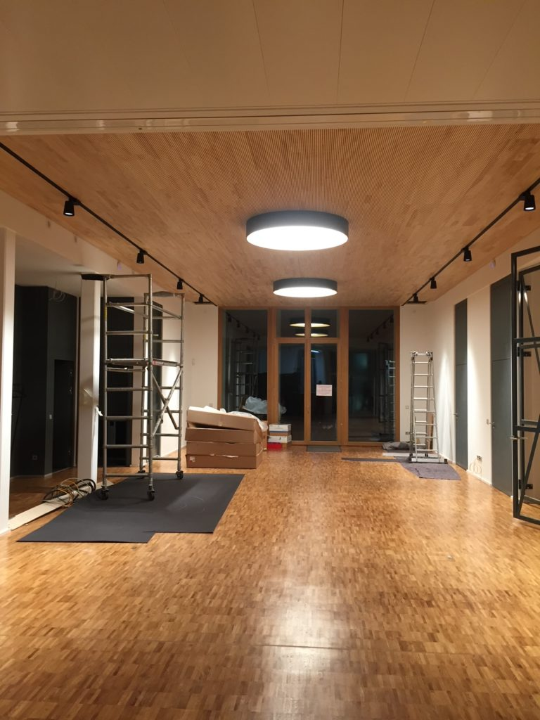 TKI-Ingenieurbüro Büroneubau Beleuchtung